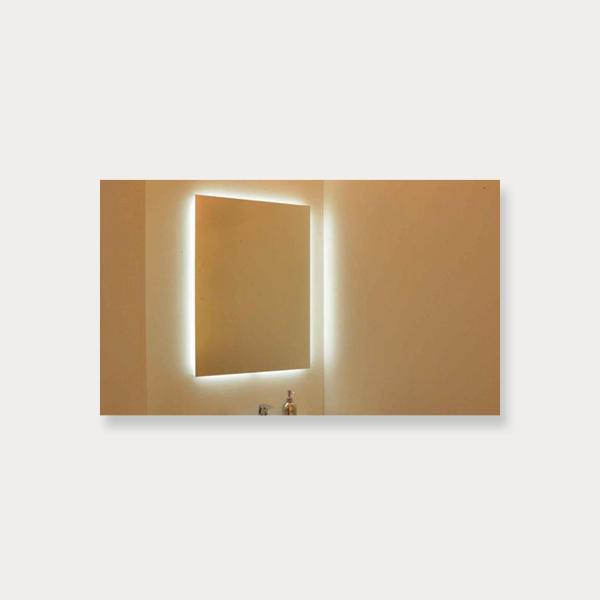 Fin Spejl med Backlight - vierbilligst.dk CP-09
