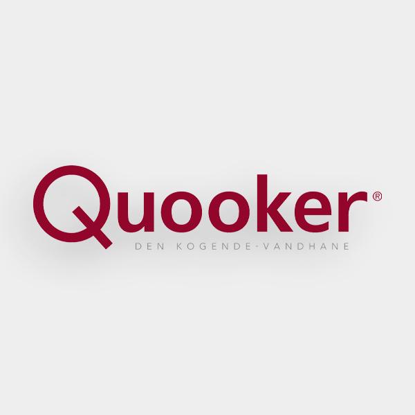 Quooker Fusion Round i Bruneret Messing med COMBI beholder 3