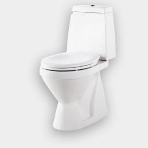 Royal T4 Gulvstående toilet inkl. soft close toiletsæde med Cover Gliss